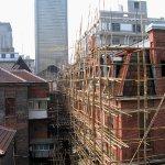 Bamboo scaffolding, Shanghai