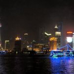 Night on the Huangpu River