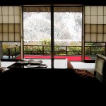 Ryokan in the Japan Alps, Nagano-ken, late winter